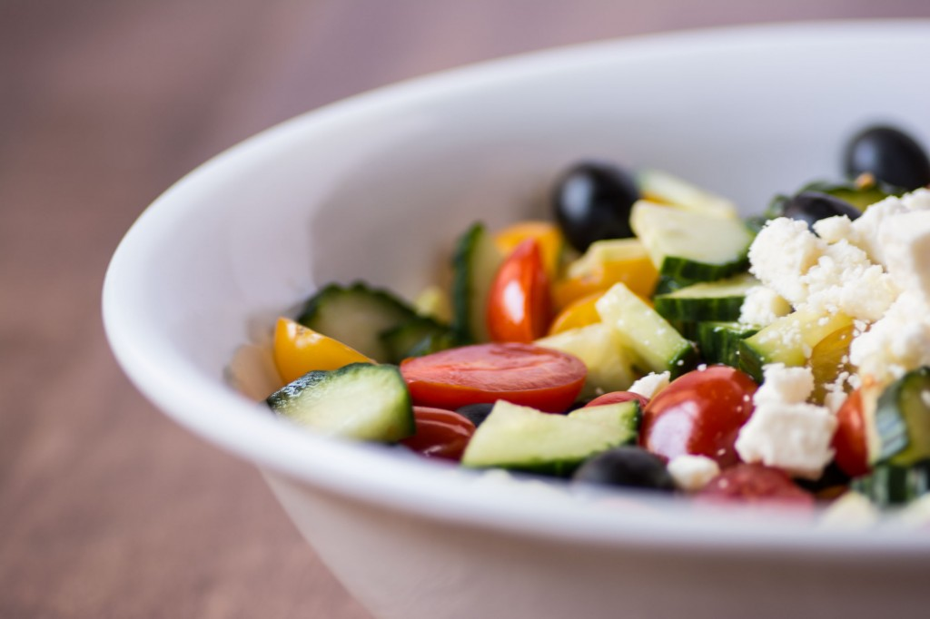 Healthy Greek Salad from Stirlist.com