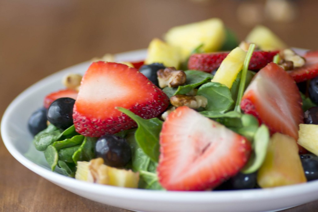 Strawberry Chia Seed Salad from Stirlist.com