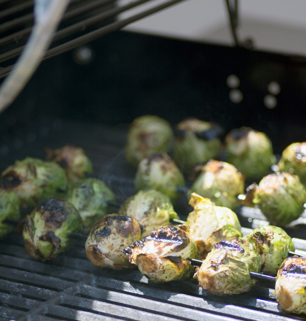 Balsamic Coated Brussels Sprouts from Stirlist.com