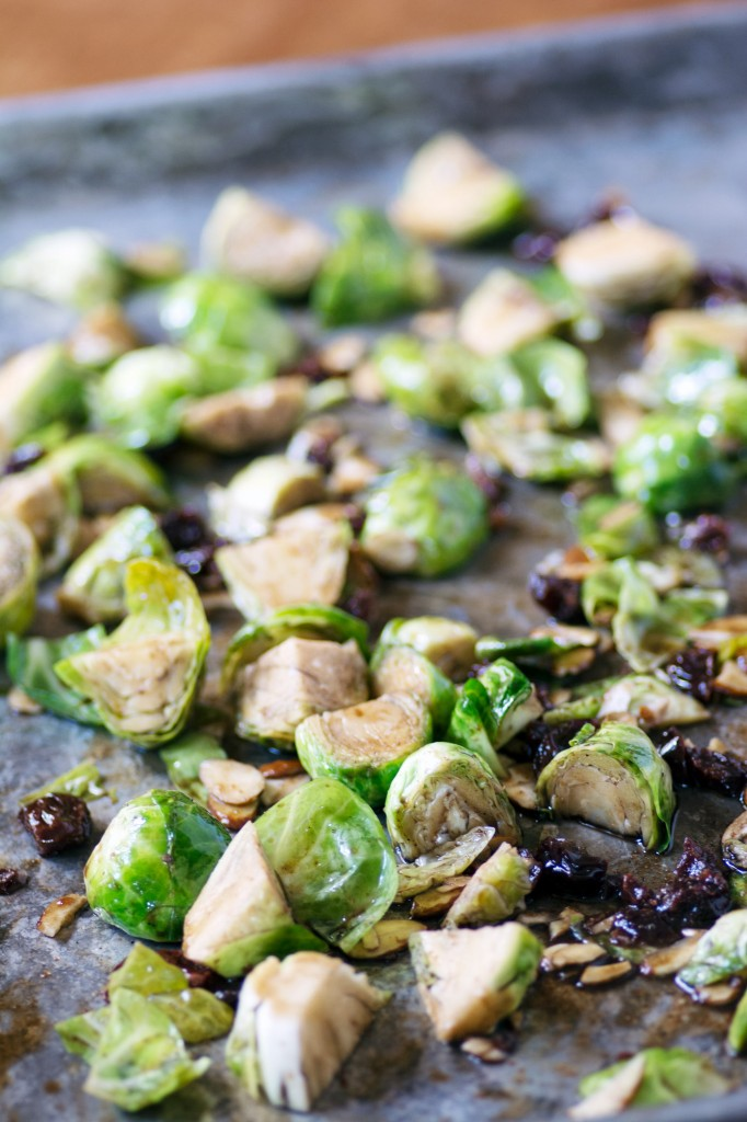 Oven Roasted Brussels Sprouts from Stirlist.com