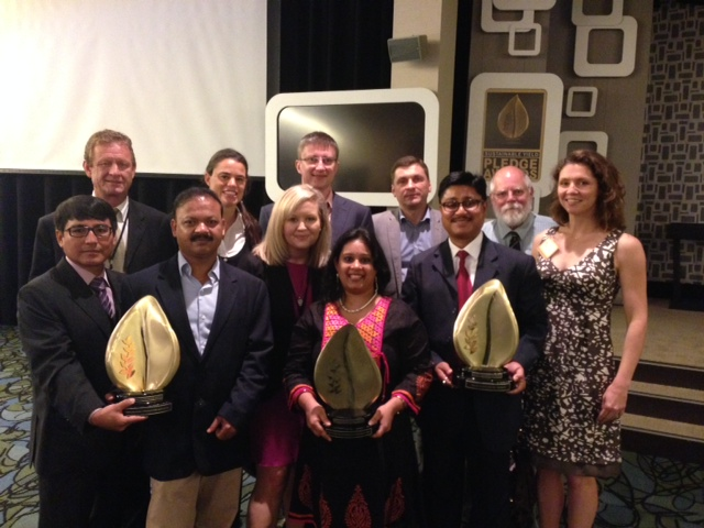 Group Photo at the Monsanto Sustainable Yield Pledge Awards