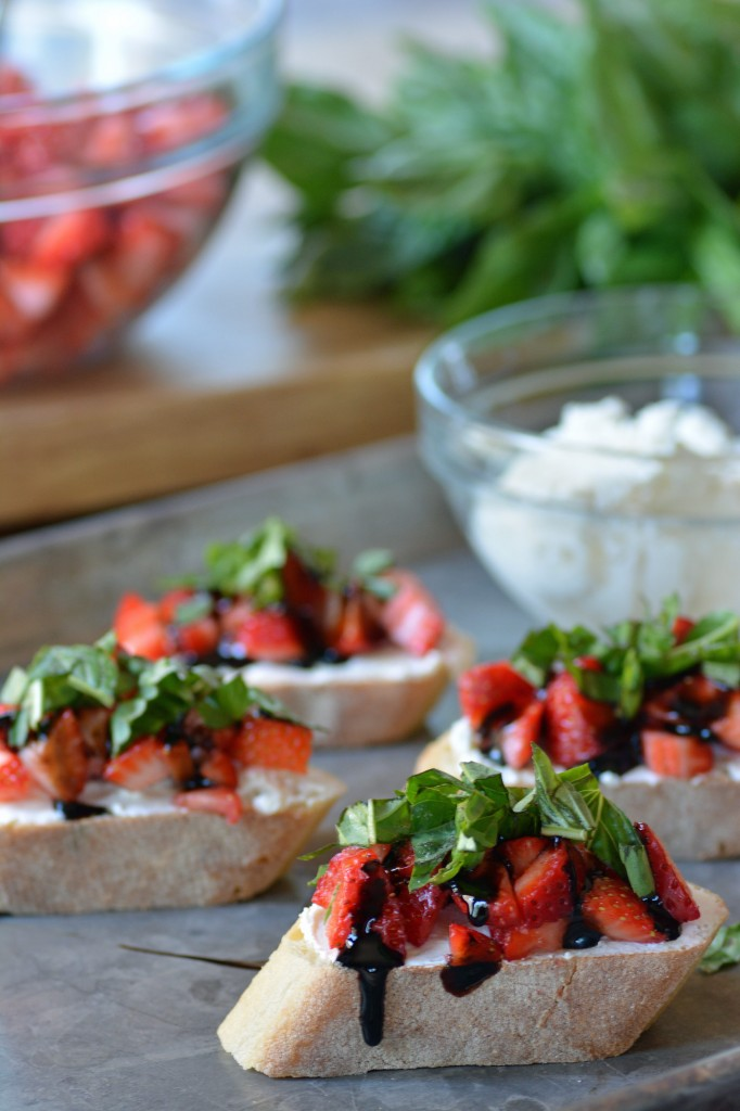 Strawberry Bruschetta from Stirlist.com