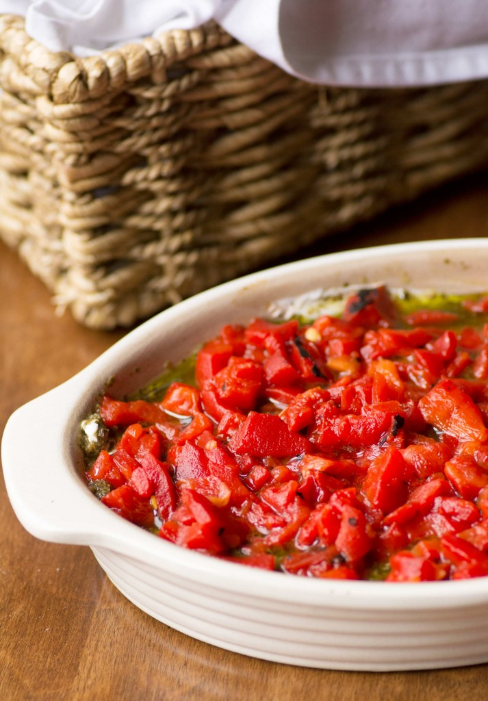 Roasted Red Pepper Dip from Stirlist.com