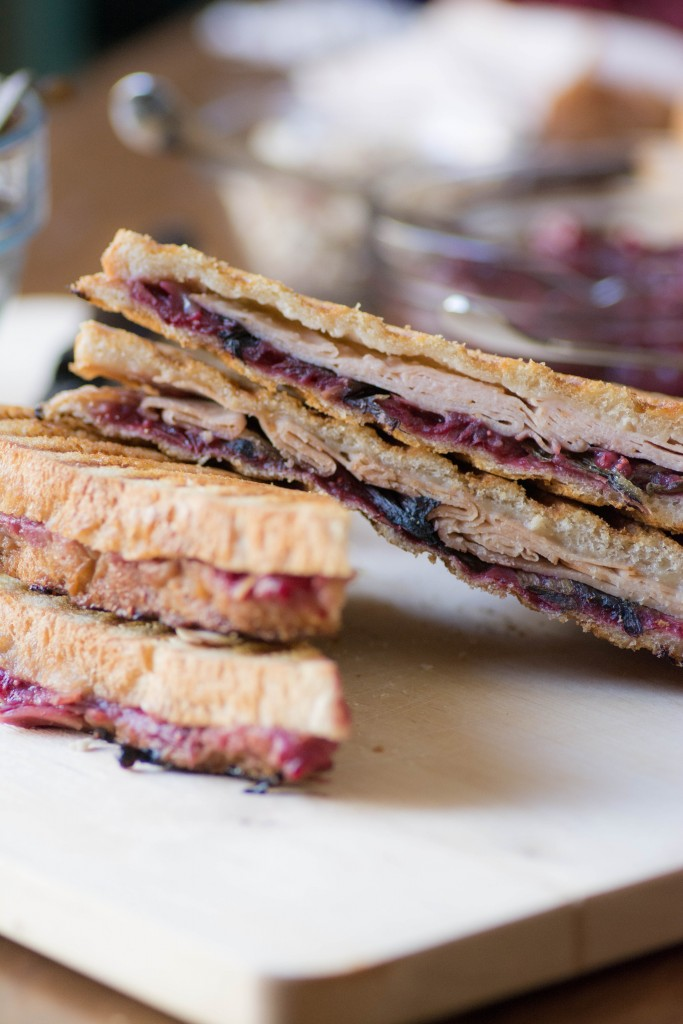Cranberry Turkey Panini from Stirlist.com