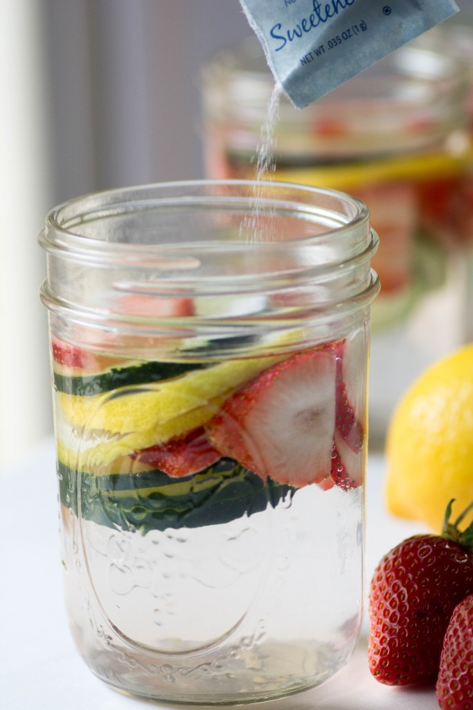 Strawberry Lemon Infused Water from stirlist.com