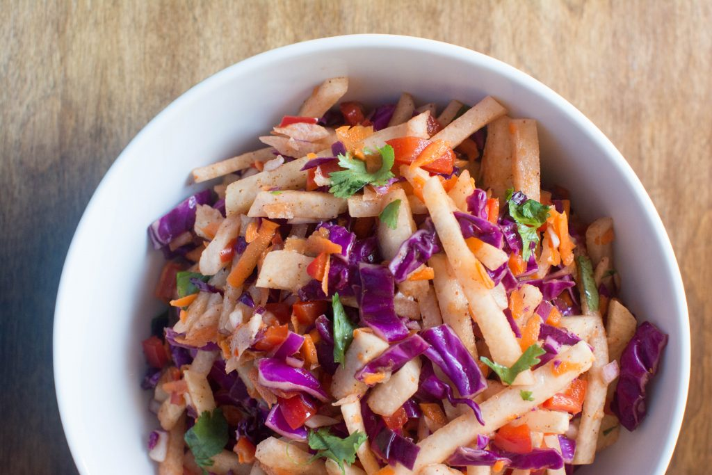 Jicama Slaw from Stirlist.com