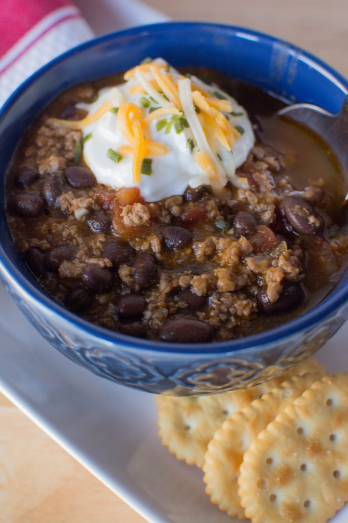 Pumpkin Chili from Stirlist.com
